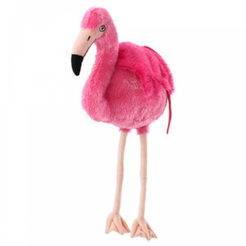 Onskad Flamingo Soft Plush Toy Nskad Pink Bird Xmas Nwt