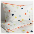 IKEA Dromland TWIN Duvet COVER Pillowcase Set POLKA DOT Multicolour DRÖMLAND