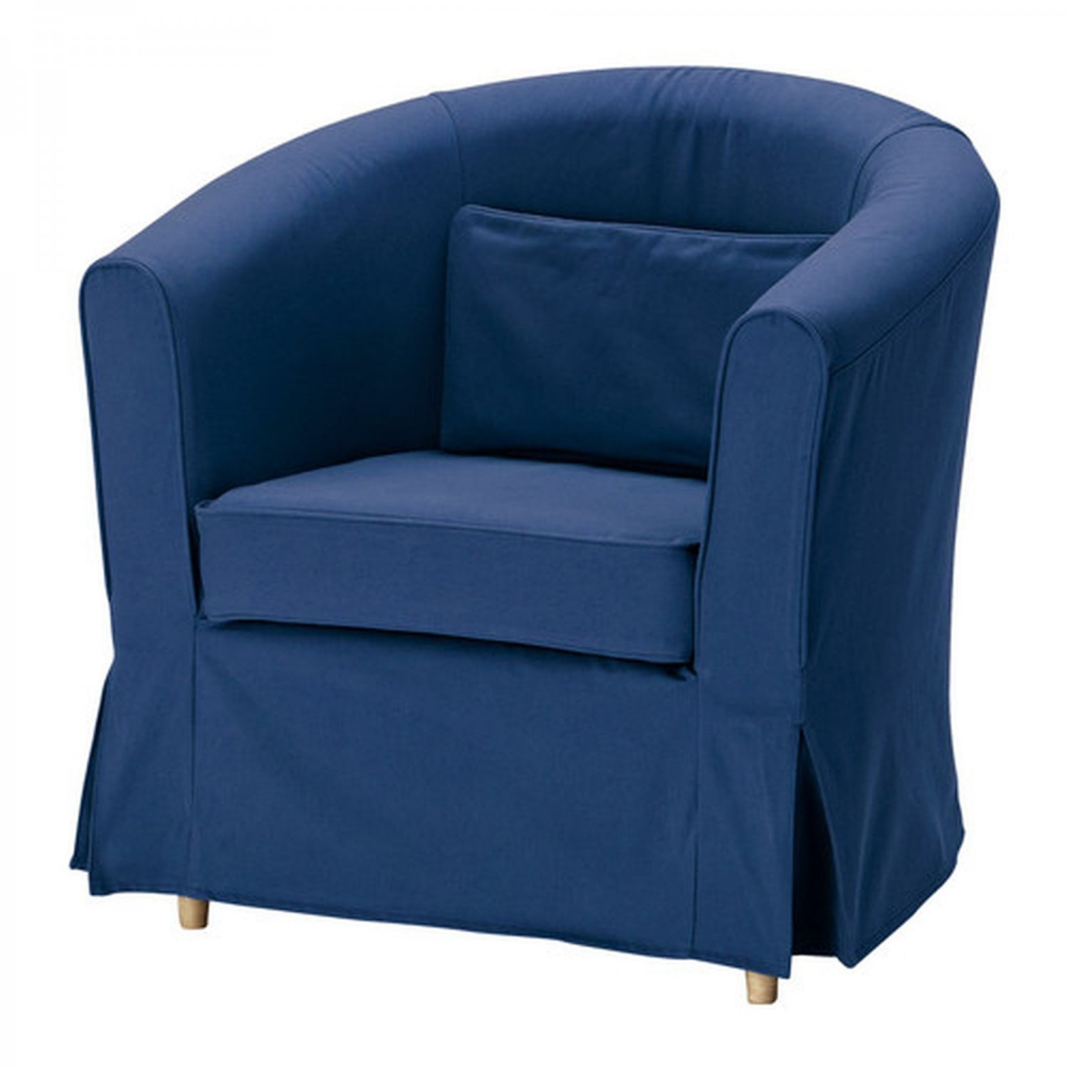 ikea ektorp tullsta armchair slipcover chair cover idemo blue bezug. Black Bedroom Furniture Sets. Home Design Ideas
