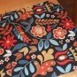 IKEA Tigeroga Fabric Material Scandinavian Country Floral Tolle 1 Yd TIGER�GA
