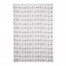 IKEA Entire BOLT of IKEA SISSELA Fabric Material BOTANICAL Print DARK GRAY White 27 Yd Grey