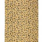IKEA Sallskap Fabric Material DOGS Stripes 3.25 Yd SÄLLSKAP Gold Gray Yellow Pre-cut