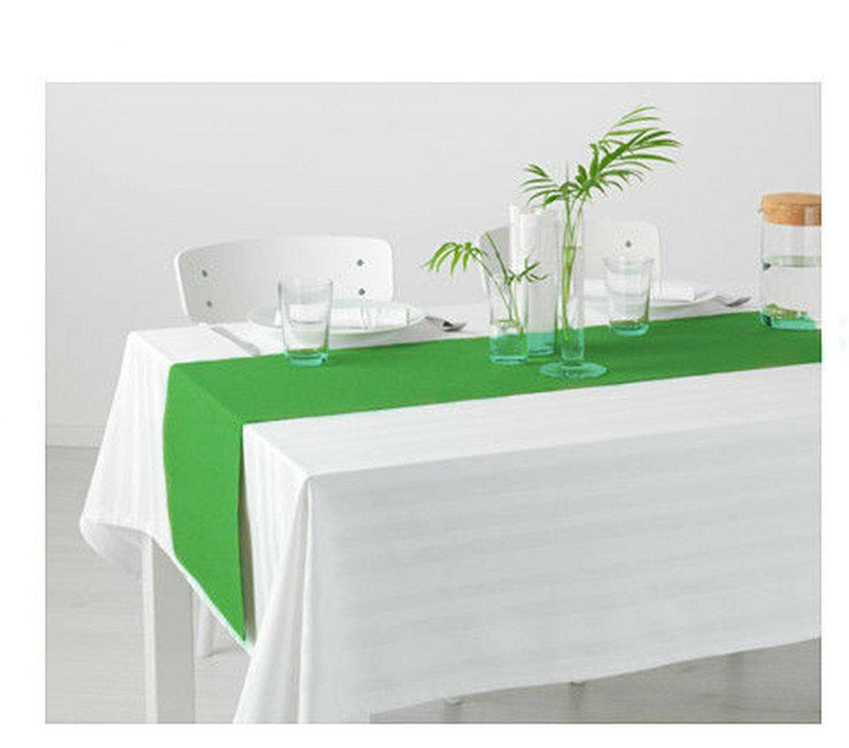 "IKEA Marit TABLE RUNNER Green 51"" x 14"" XMAS Spring Tablerunner M�RIT"