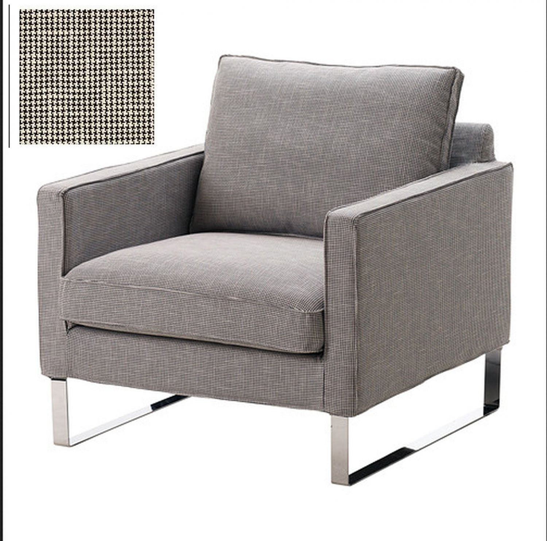 Ikea Mellby Armchair Slipcover Chair Cover Eldris Black