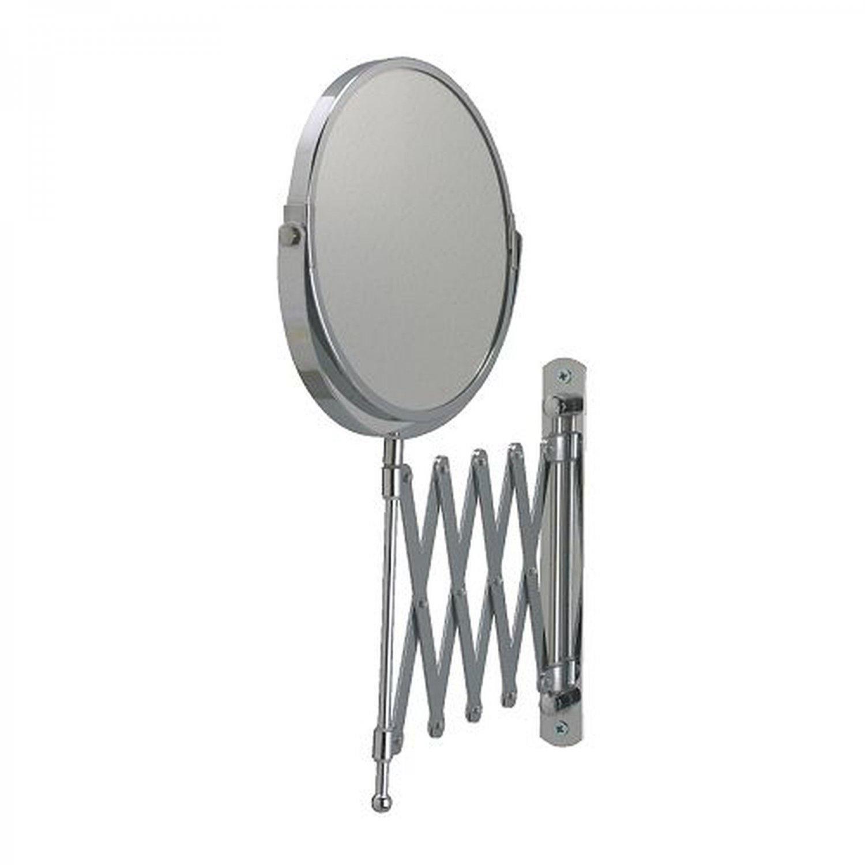IKEA  FR�CK Bathroom MIRROR Stainless Steel MAGNIFYING Extendable SHAVING MAKE UP Frack