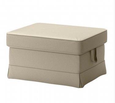 Ikea Ektorp Bromma Footstool Slipcover Cover Tygelsjo