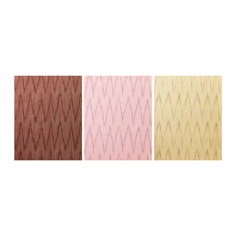 IKEA Sallskap Fabric Material YELLOW Gold 3.25 Yd S�LLSKAP Wave Stripe