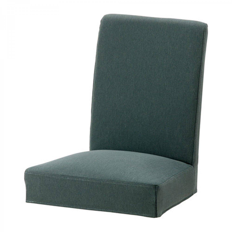 """IKEA Henriksdal Chair SLIPCOVER Cover 21"""" 54cm FINNSTA Turquoise Green Blue"""