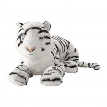 IKEA Onskad WHITE TIGER Soft Plush Toy �NSKAD Jungle Animal Soft NWT