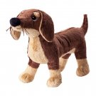 IKEA Smaslug PUPPY Dog SOFT Plush Toy BABY Safe SMÅSLUG Brown Dachshund Klappar Gosig