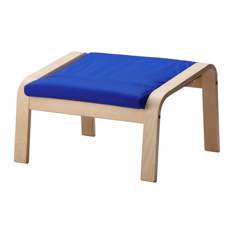 IKEA Poang PO�NG Footstool CUSHION Granan BLUE Ottoman Cover Granån