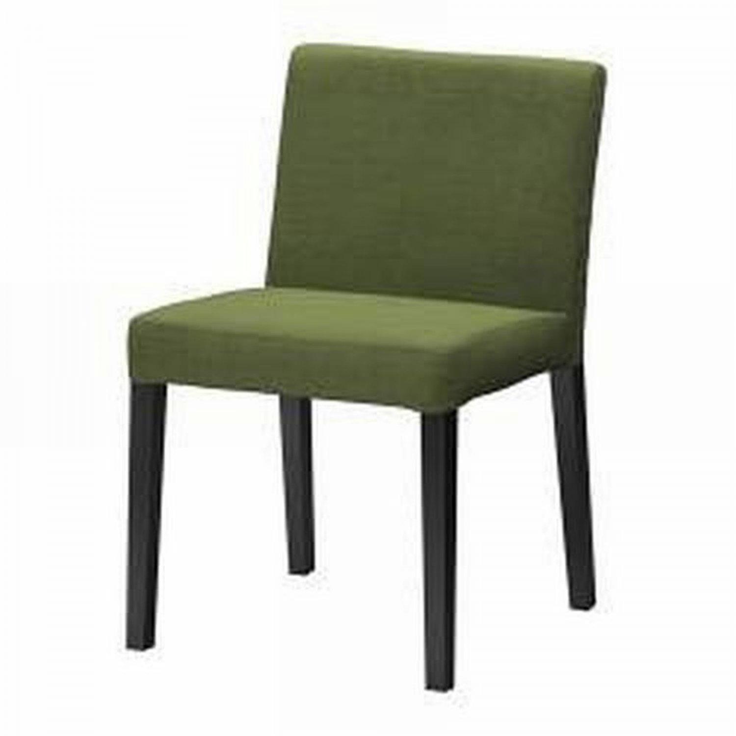 ikea nils dining chair slipcover cover sivik dark green. Black Bedroom Furniture Sets. Home Design Ideas
