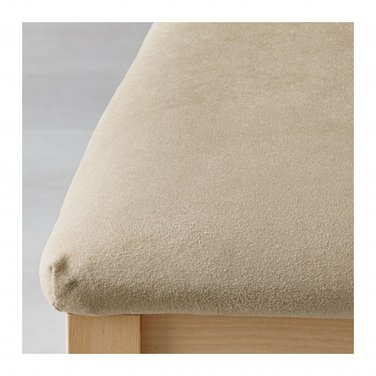 IKEA BORJE Dining Chair SLIPCOVER Cover SET of 4 KUNGSVIK SAND Beige B�RJE