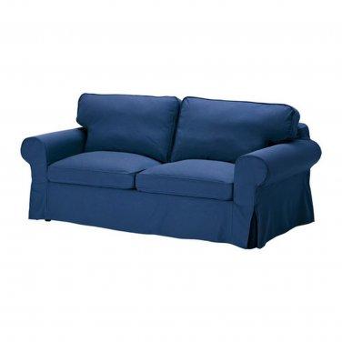 IKEA EKTORP Sofa Bed SLIPCOVER Sofabed Cover IDEMO BLUE Bezug Housse