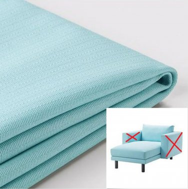 IKEA Norsborg Chaise Section Cover SLIPCOVER Cover EDUM LIGHT BLUE - no arm covers
