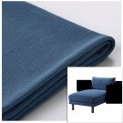 IKEA Norsborg Chaise Section Cover SLIPCOVER Cover EDUM DARK BLUE - no arm covers