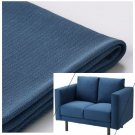 IKEA Norsborg 2 Seat Loveseat Sofa Section SLIPCOVER Cover EDUM DARK BLUE - no arm covers