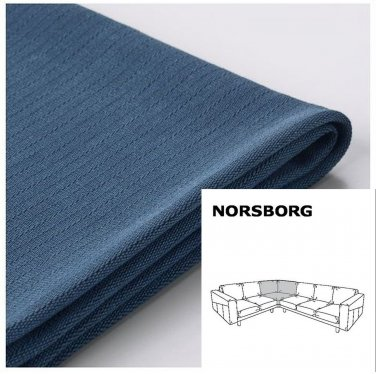 IKEA Norsborg Corner Section SLIPCOVER Cover EDUM DARK BLUE