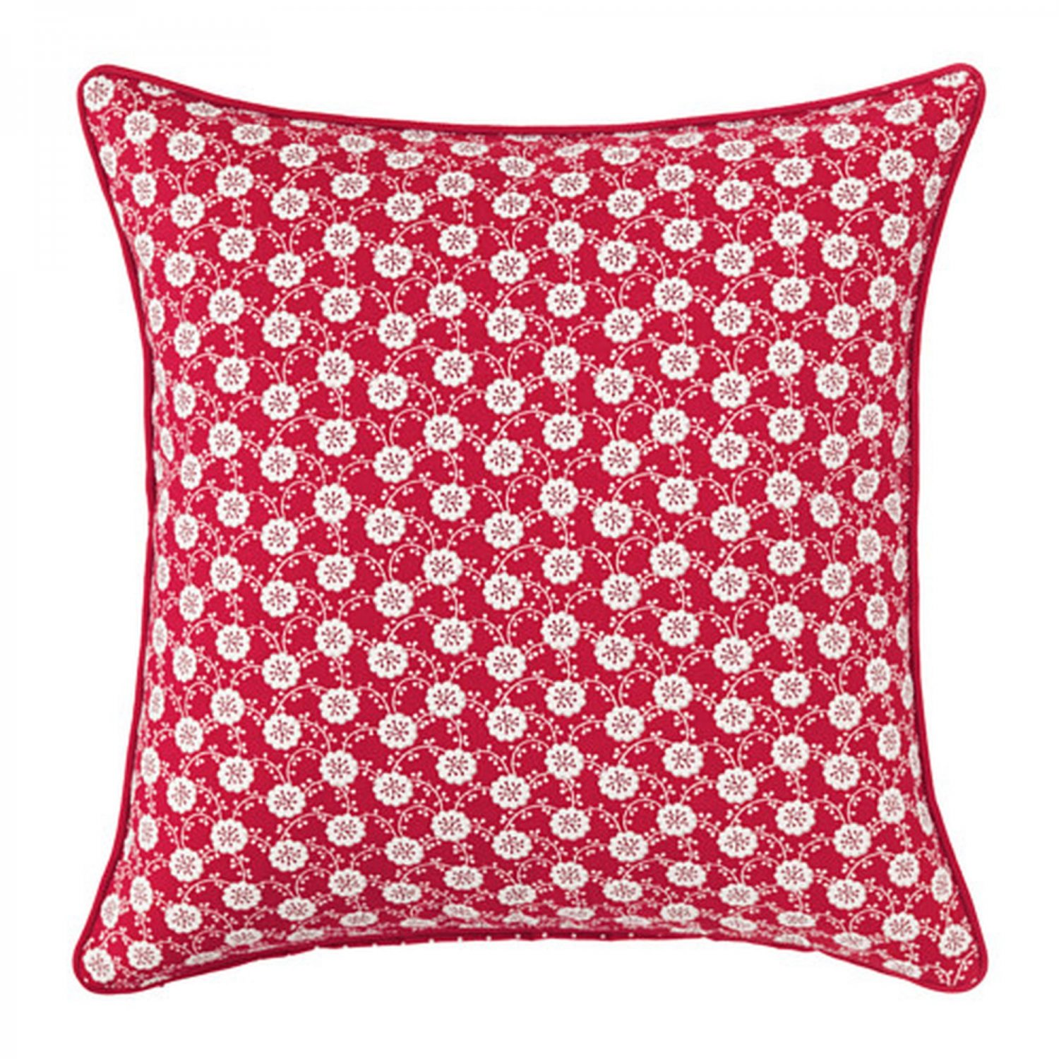 IKEA Lovkoja PILLOW SHAM Cushion Cover RED White Floral L�VKOJA Polka Dots Xmas