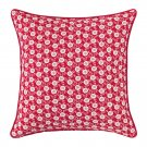 IKEA Lovkoja PILLOW SHAM Cushion Cover RED White Floral LÖVKOJA Polka Dots Xmas