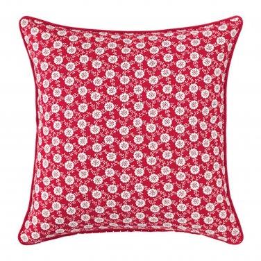 IKEA Lovkoja PILLOW SHAM Cushion Cover RED White Floral L�VKOJA Polka Dots Xmas