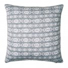 "IKEA Antilopoga CUSHION COVER Pillow Sham GRAY White 20"" x 20"" Knit ANTILOPÖGA Xmas Nordic"