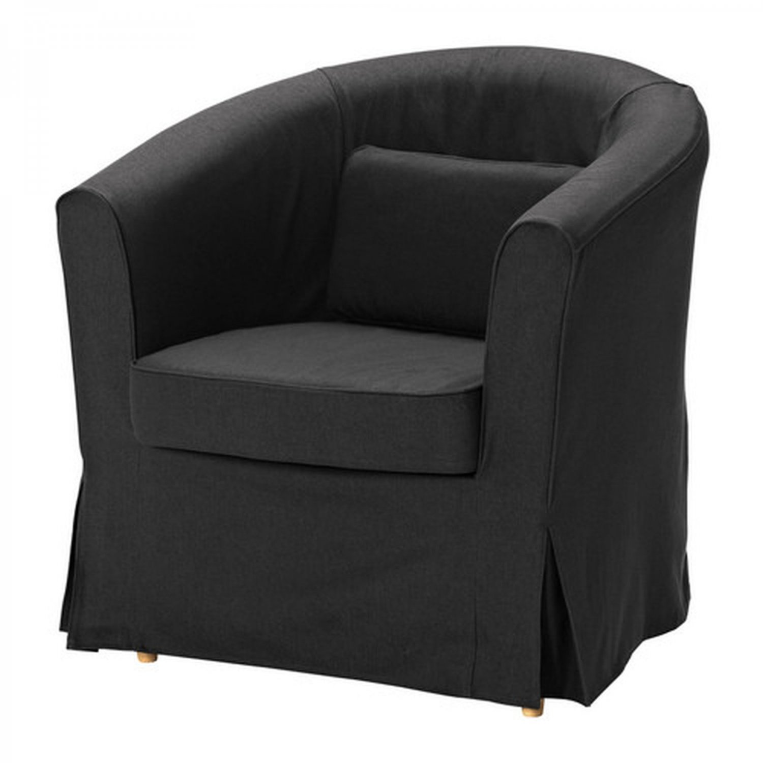 ikea ektorp tullsta armchair slipcover chair cover idemo black bezug. Black Bedroom Furniture Sets. Home Design Ideas