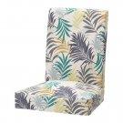 "IKEA HENRIKSDAL Chair SLIPCOVER Cover 21"" 54cm Fern Floral Tropical Tiki GILLHOV Print"
