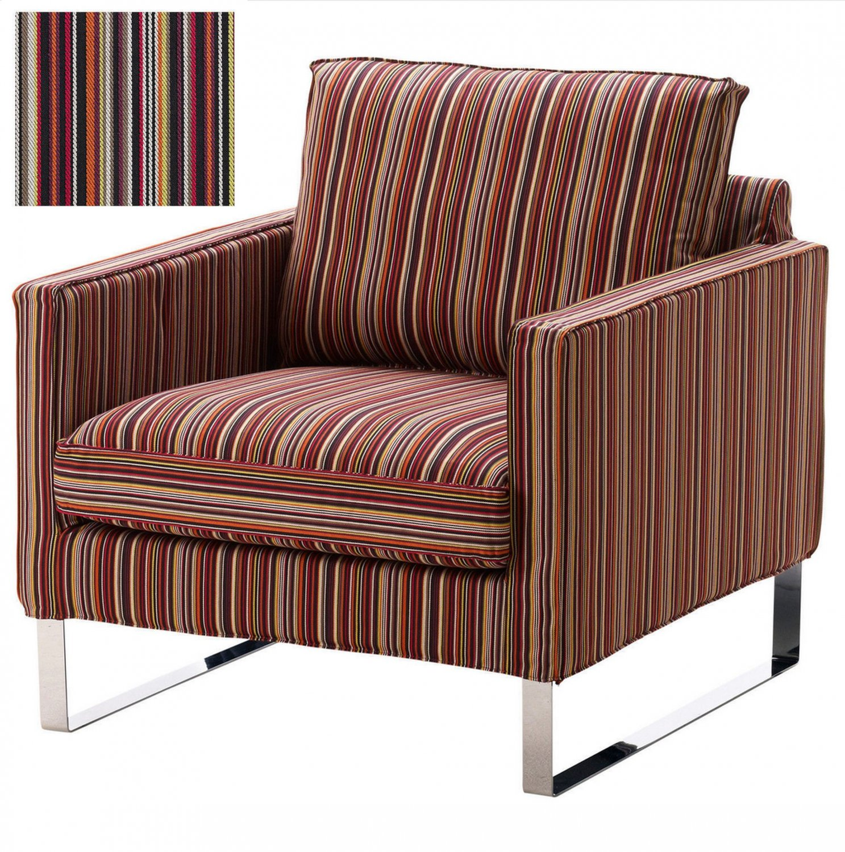 Ikea Mellby Armchair Slipcover Chair Cover Kulladal Multicolor Stripes
