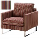 IKEA MELLBY Armchair SLIPCOVER Chair Cover KULLADAL Multicolor Stripes