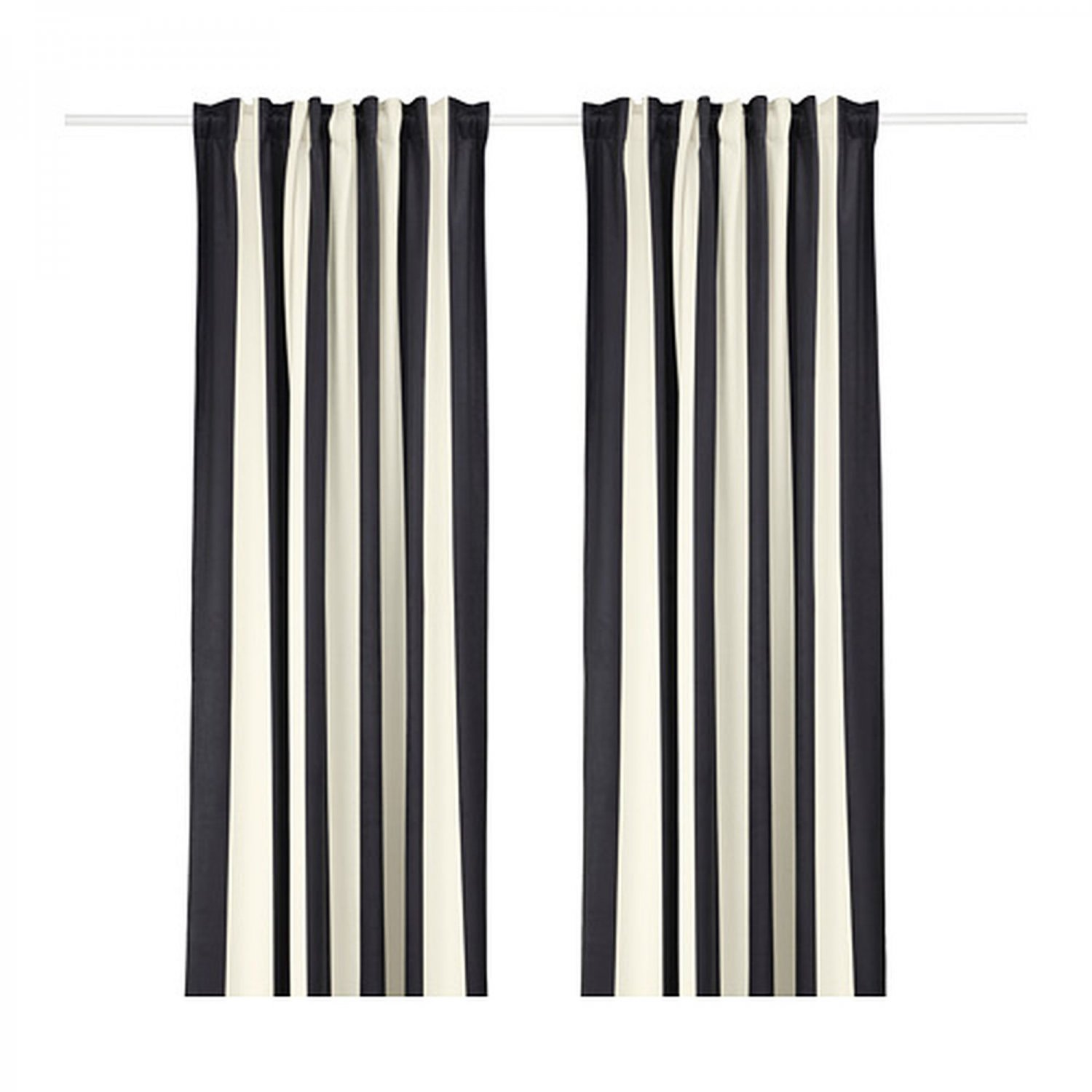 Ikea Omedelbar Curtains D Striped