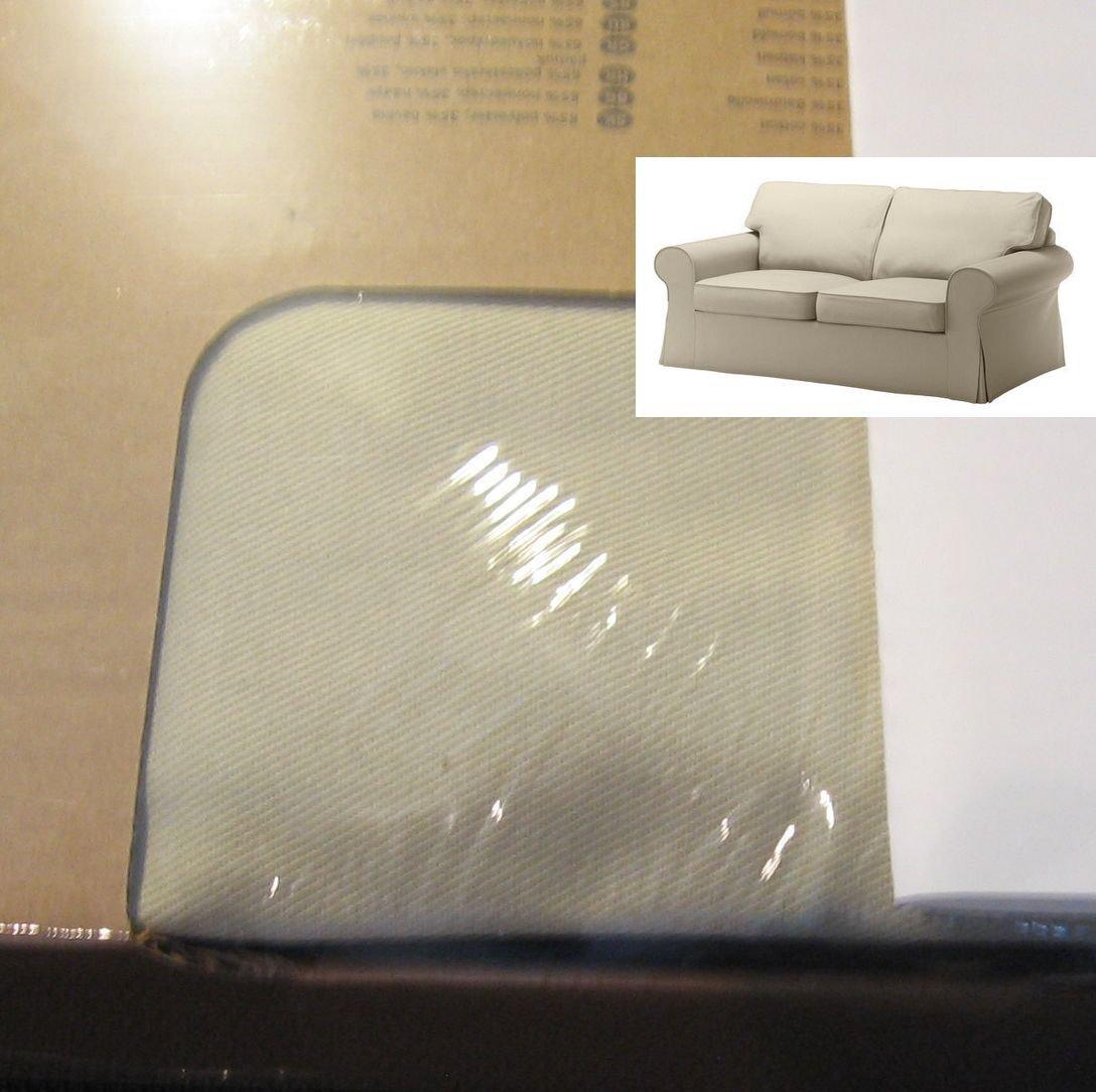 IKEA EKTORP 2 Seat Sofa SLIPCOVER Loveseat Cover TYGELSJO Light Beige Tygelsjö