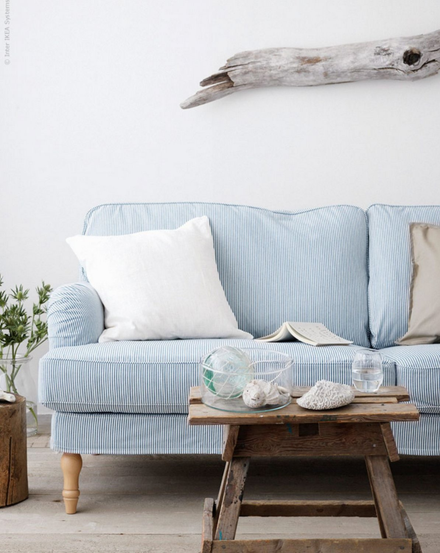 IKEA Stocksund 3.5 Seat Sofa SLIPCOVER Cover REMVALLEN ...