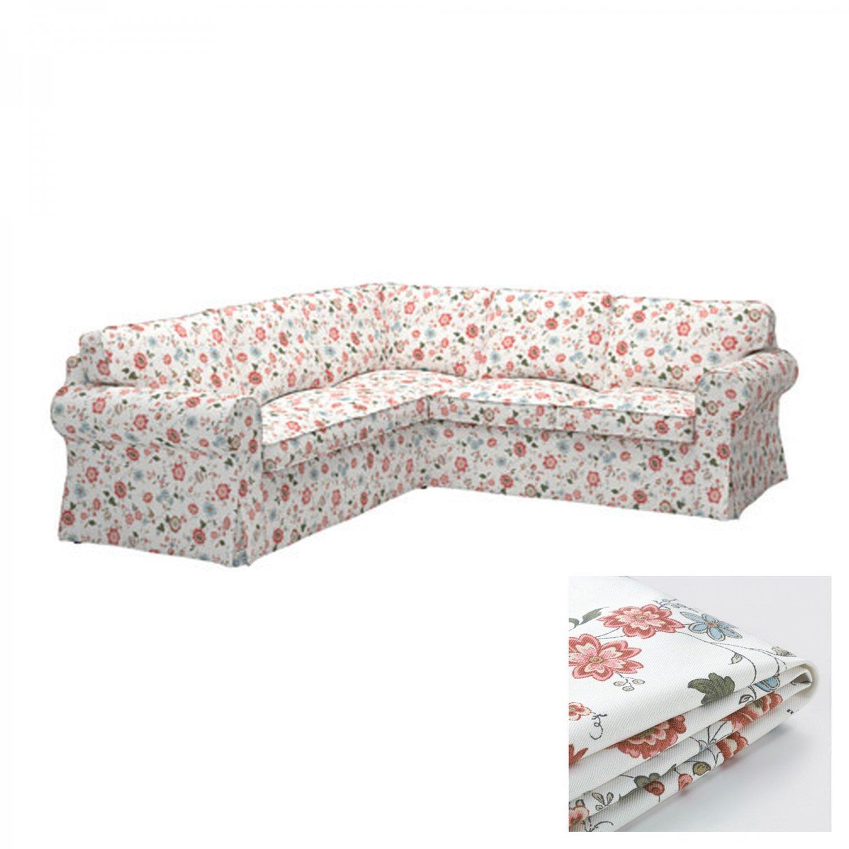 IKEA Ektorp 2+2 Corner Sofa COVER Slipcover VIDESLUND
