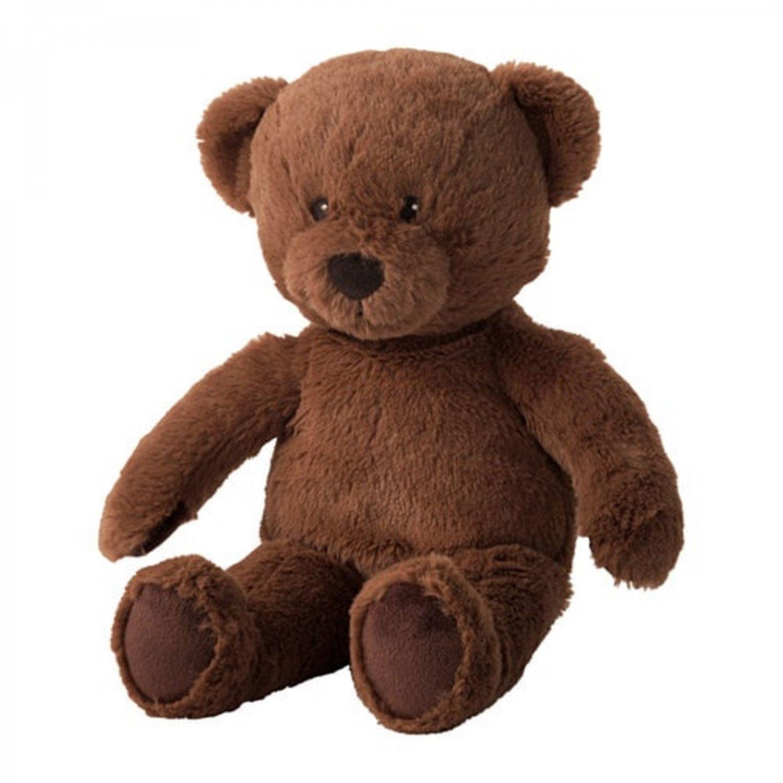 IKEA Brunbjorn BROWN BEAR Soft Plush Toy BRUNBJ�RN
