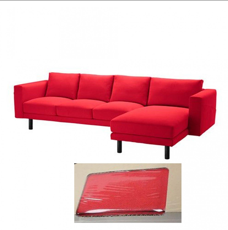Ikea Norsborg 3 Seat Sofa W Chaise Slipcover Cover Finnsta