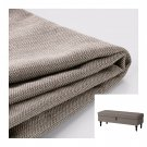 IKEA Stocksund Bench SLIPCOVER Cover NOLHAGA GRAY-BEIGE Gray Beige Grey