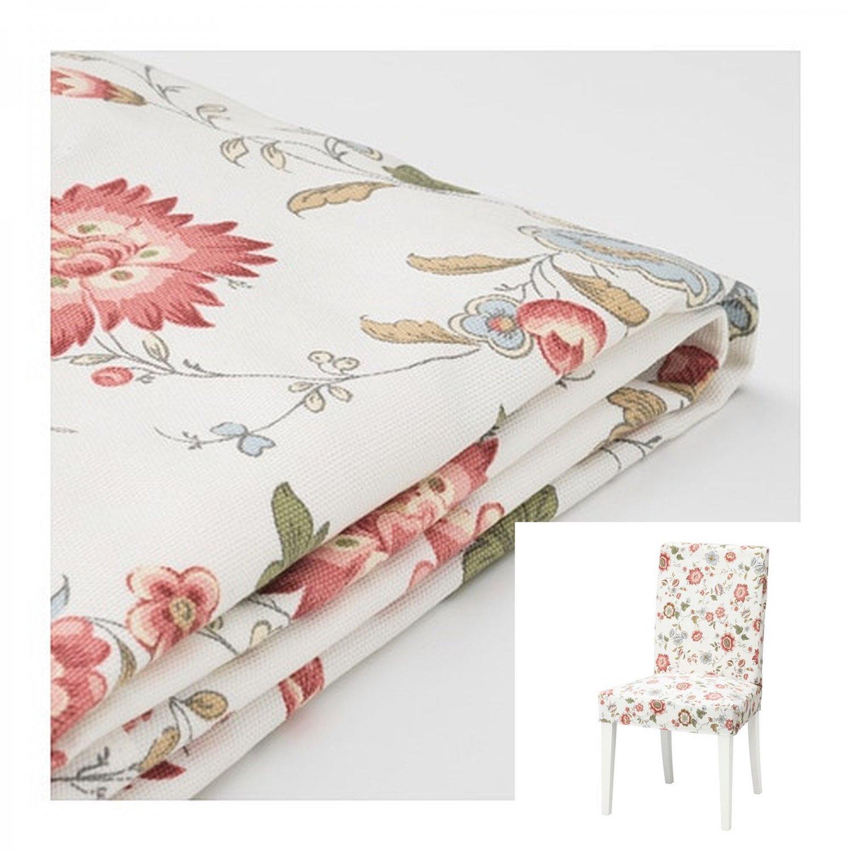 "IKEA Henriksdal Chair SLIPCOVER Cover  VIDESLUND Floral 21"" 54cm"