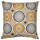 IKEA Murbinka Pillow COVER Sham Cushion Cvr MULTICOLOR Gold Brown Retro Ethnic