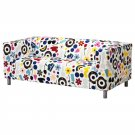 IKEA KLIPPAN FORNYAD Loveseat Sofa SLIPCOVER Cover LIMITED EDITION Darcel Förnyad Retro