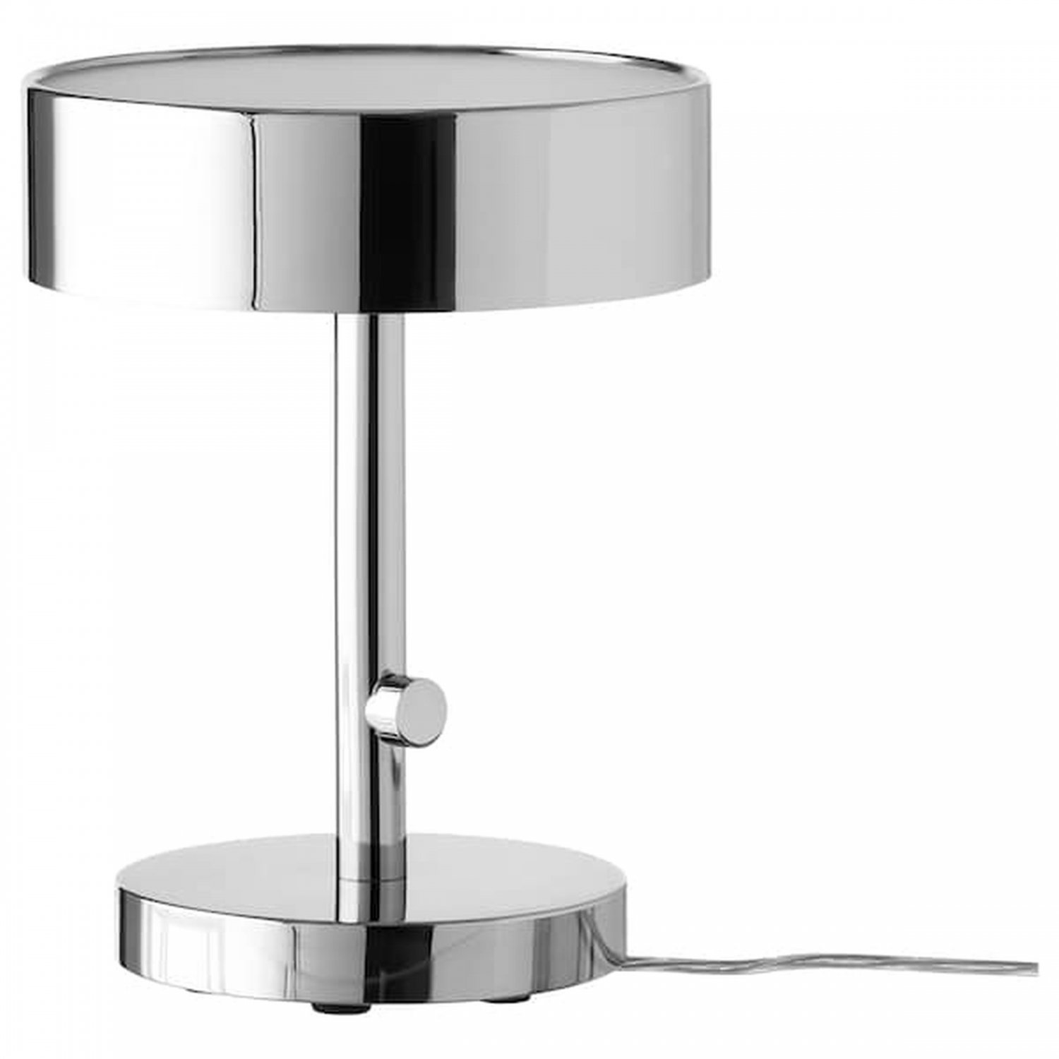 IKEA Stockholm 2017 Table Lamp CHROME Modern Architectural LIMITED EDITION