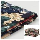 IKEA Ektorp Footstool COVER Ottoman Slipcover LINGBO MULTI Floral