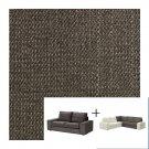 IKEA Kivik 2+2 Corner Sofa SLIPCOVERS 4 Seat sectional COVERS Tullinge Gray-Brown Grey Brown