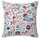 """IKEA Kratten Pillow COVER Sham Cushion Cvr Multicolor Floral 20"""" Scandinavian Folk Art"""