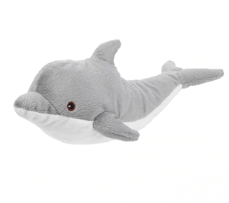 IKEA Genomblot DOLPHIN Soft Plush Toy BABY Safe Klappar Gosig Ocean Porpoise GENOMBL�T