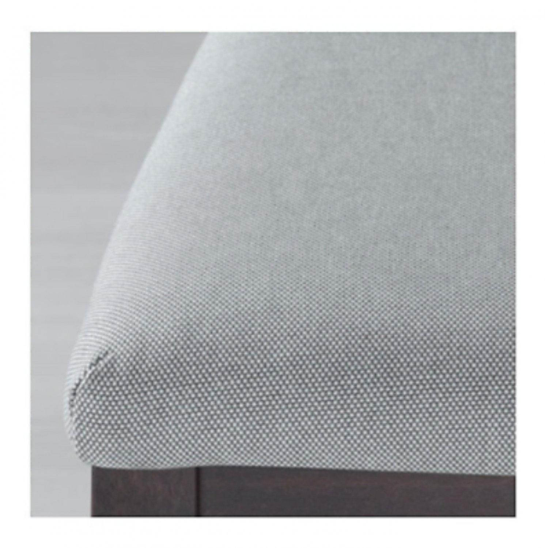 IKEA Ekedalen Dining Chair SLIPCOVER Cover ORRSTA LIGHT GRAY Grey