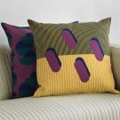 IKEA Sjalvstandig Pillow COVER Sham Cushion SJÄLVSTÄNDIG Limited Edition Yellow Purple Green