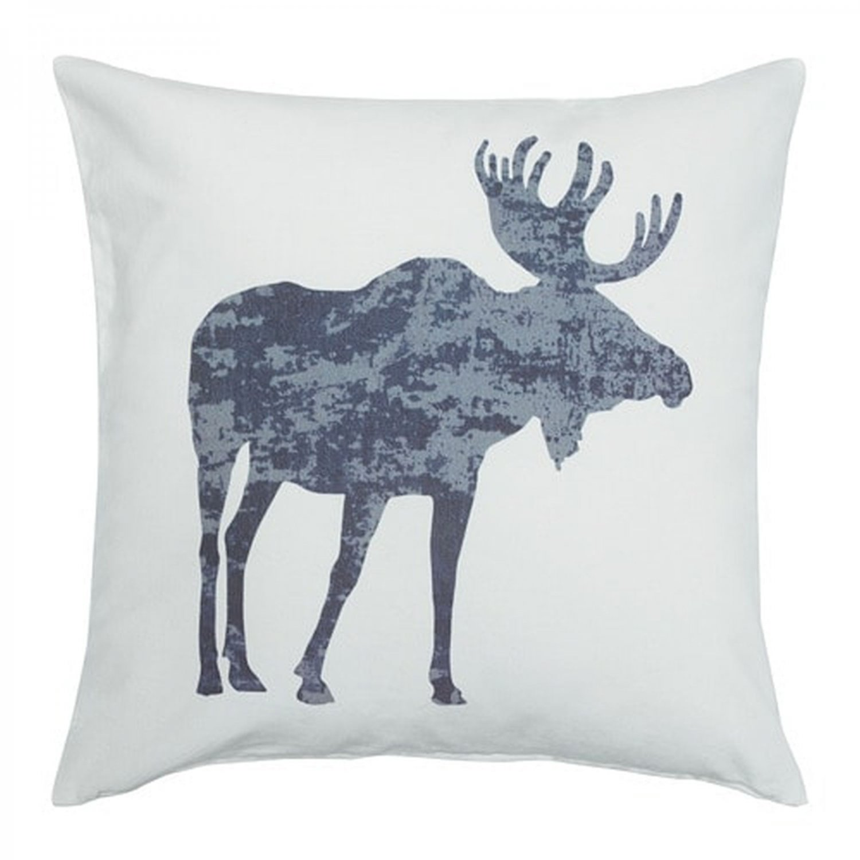 IKEA Varolvon ELK Moose Cushion COVER Pillow Sham Xmas Chalet Nature Reindeer Velvet V�ROLVON