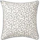 "IKEA Lungort Pillow COVER Sham Cushion Cvr Floral Stripes 20"" LUNGÖRT 18th Century Floral Design"