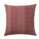 IKEA Daggruta Pillow COVER Sham Cushion Cvr RED-BROWN Modern Geometric red brown rust